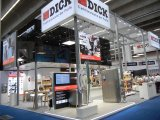 "Corporate booth ""Friedr. Dick GmbH & Co. KG"" and ""von den Steinen GmbH & Co. KG"""